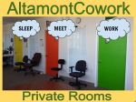 sleep meet work private offices coworking